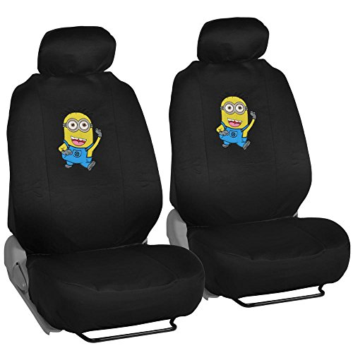 BDK MDSC 1104 Despicable Me Minions Seat Covers For Car SUV Van Officially Licensed Products Full Set