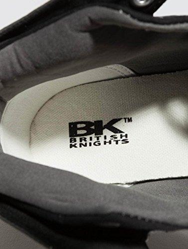 Baskets cognac Roco 03 British Hautes Grey b41 3706 Homme black Knights qEwax6wF