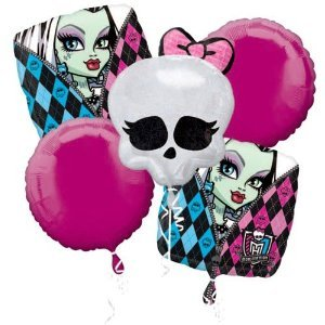 Anagram Monster High Balloon Bouquet -