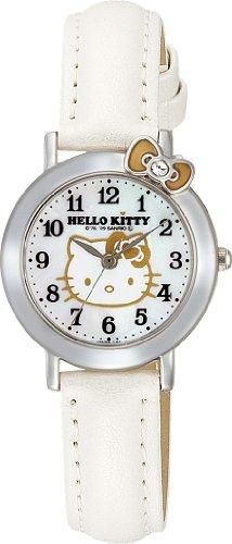 Hello Kitty Classic Ribbon Watch (White) -Hello Kiity Watch (Lady / Girls size)