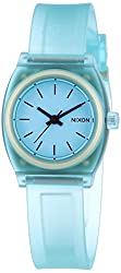 Nixon A425-1785 Ladies The Small Time Teller P Translucent Mint Watch