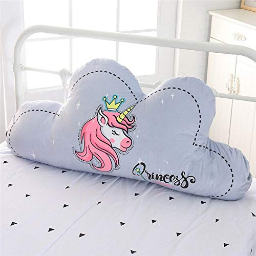 LAJKS Ins Clouds Back Healing Unicorn Plush Cushion Removable Pillow Cool Must Haves 5 Year Old Girl Gifts Childrens Favourites Superhero Cupcake Toppers UNbox Toys by LAJKS