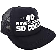 """""""40 Never Looked So Good"""" Hat – Happy 40th Birthday Party Supplies, Ideas and Decorations - Funny Birthday"""