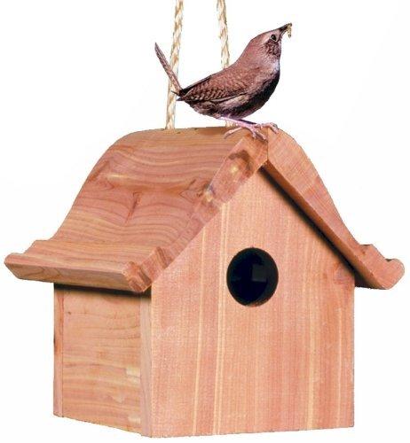 Perky-Pet 50301 Wren Home Cedar Birdhouse (Limited Edition) ()