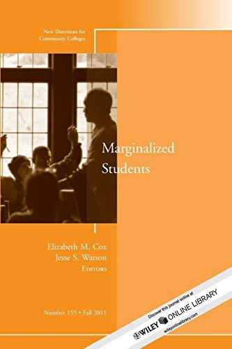 CC155: Marginalized Students