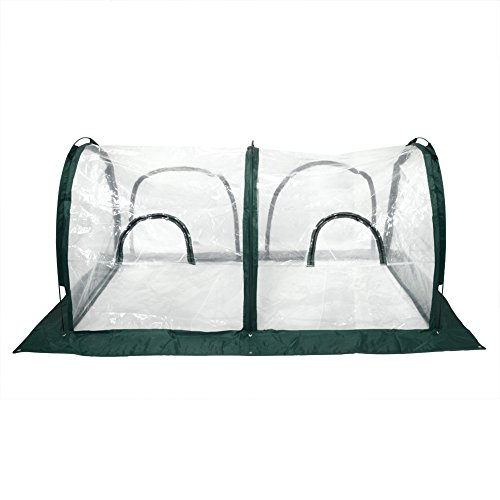 Clear Greenhouse Tunnel Cover For Cold Frost Protector Gardening Plants Pot Flower Shelter 78