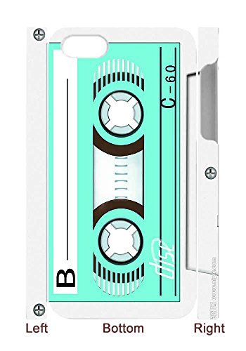 Hard Back Cover Shell Phone Case Music Cassette Tape Case For iPhone 4(3D) (Cassette Tape Case For Iphone 4)