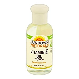 Sundown Naturals Vitamin E Oil 2.50 oz(Pack of 4)