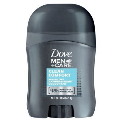 Dove Men+Care Clean Comfort Anti-Perspirant Deodorant Travel Size - 0.5 Oz (Case of 36)