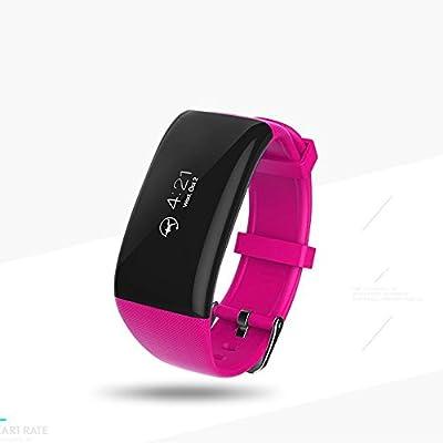 CSYY ® Smart Bracelet Heart Rate Monitor Sleep Monitor Rappel d'appel Bluetooth Sport I67 Waterproof