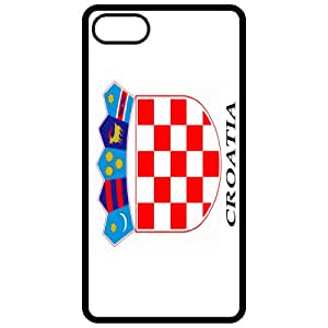 Croatia Coat Of Arms Flag Emblem Black Apple Iphone 5 Cell Phone Case - Cover