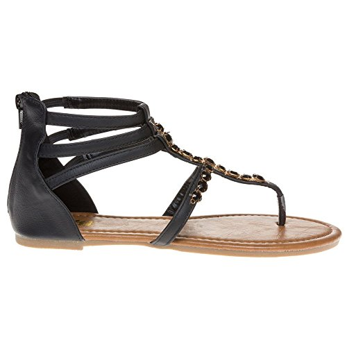 Femme Noir Xti 28006 Sandales Noir pqn1fZxw