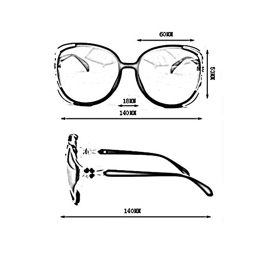 Polarisé lunettes de ressort Marron Classique Charnières Rose Des UV400 CJC Couleur Lentilles Cadre soleil PC à protection de wIq5616E