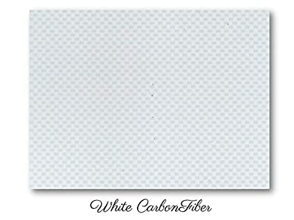 Amazon com: White Carbon Fiber ABS sheet for boat instrument panels