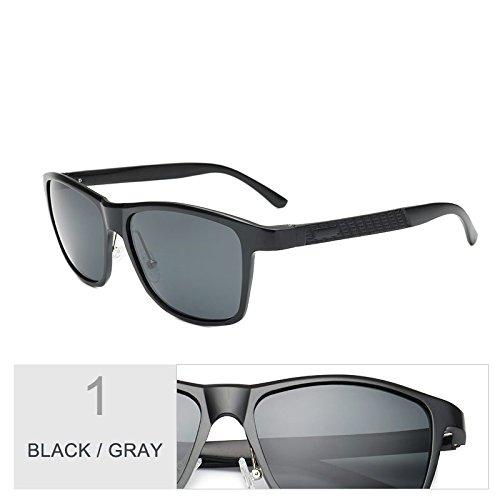Pesca Hombres Gafas Black Polarizadas De Sol De Para De Cobre Gray Marrón Magnesio Guía Calidad TIANLIANG04 Gafas Alluminio Alta qWYPPF