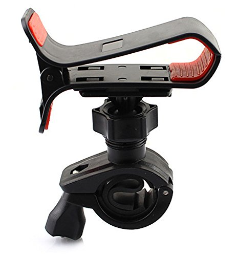 Chariot Trading - Universal Bicycle Bike Phone Clip Holder Cradle Stand for iPhone Galaxy Smart phone PDA GPS - CJ-BG-000467