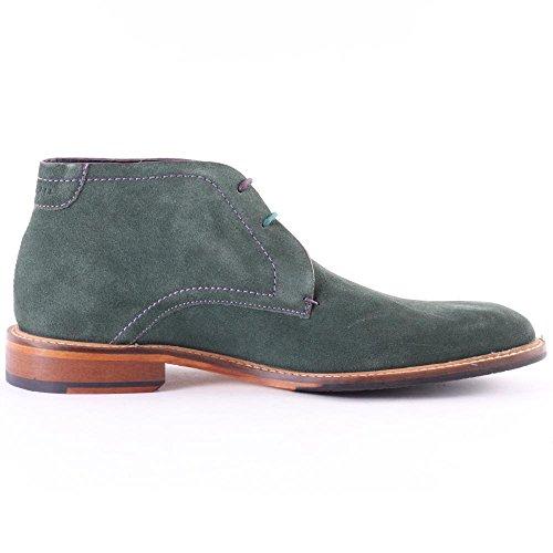 Zapato abotinado caballero Ted Baker Linnus Dk Verde Verde