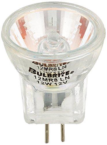 Bulbrite 12MR8LN 12-Watt 12-Volt Halogen MR8 Lensed Bi-Pin, - 12v Lensed