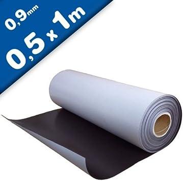 Lámina magnética autoadhesiva 0,9mm x 50cm x 100cm - puedes ...