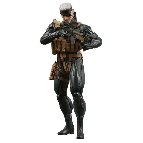 Metal Gear Solid Medicom 7 Inch Action Figure Snake [MGS4]