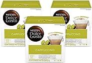 NESCAFÉ Dolce Gusto Nescafé Dolce Gusto Cappuccino de 16 cápsulas cada uno, 3 paquetes
