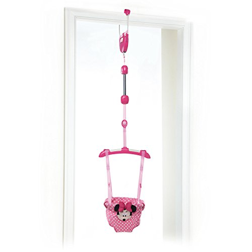 Disney Baby Door Jumper, Minnie Mouse (Best Baby Door Bouncer)