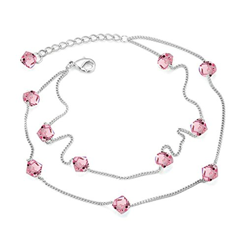 Initial Charm Anklet - 7