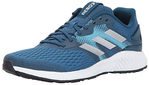 adidas Performance Men's Aerobounce m Running Shoe Core Blue/Metallic Silver/Vapour Blue 10.5 Medium US