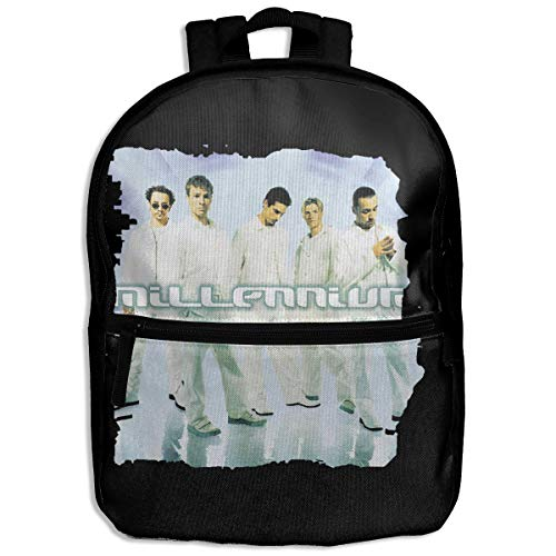 (Kids Backpack Backstreet Boys Millennium Logo School Hiking Travel Shoulder Bag Student Daypack For Boys Girls)