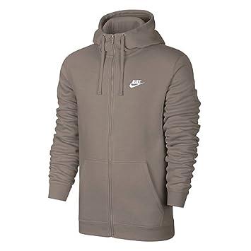 9ea3f0af Nike Men's NSW Full Zip Club Hood Jacket, Men, 804389-206: Amazon.co ...