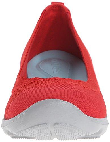 Flats Red Crocs Ballet Women's Bsydaystrtchflt Flame xqwgOHw