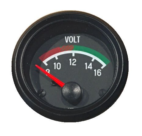 - VDO Gauge Voltmeter, Genuine Cockpit 332-041, 2