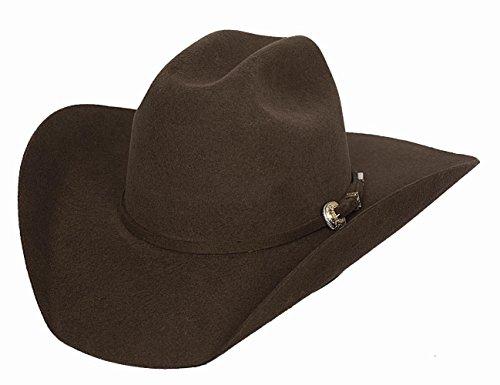 Bullhide Montecarlo Kingman 4x Premium Wool Western Hat 7 1/8 Black