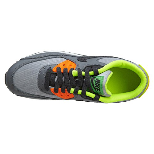 NIKE Air Max 90 (GS) Boys Running Shoes Grey visa payment for sale clearance really KK3loj9