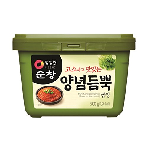 500g Koreanische gewürzte Sojabohnenpaste zum Dippen Ssamjang Daesang Sunchang