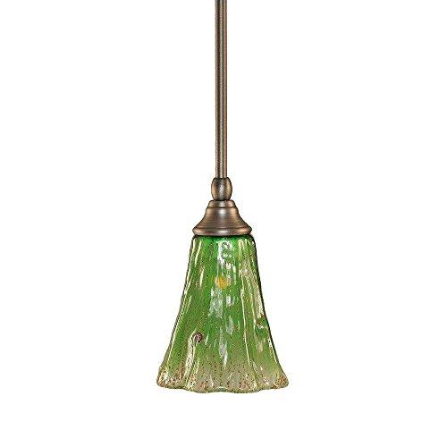 Toltec Lighting 23-BN-723 Stem Mini Pendant with Hang Straight Swivel with 5.5