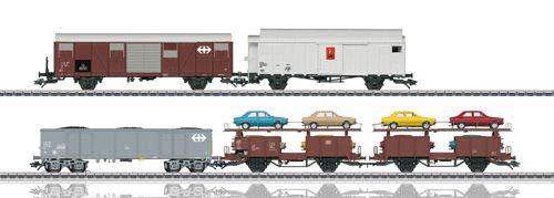 Märklin 046567 Güterwagen-Set zum Rangier-Krokodil Ce 6/8 II SBB/CFF/FFS