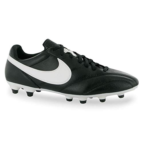 Kangaroo Leather Heels - Nike Mens The Premier Soccer Cleat (Black/Summit White/Orange) (7)