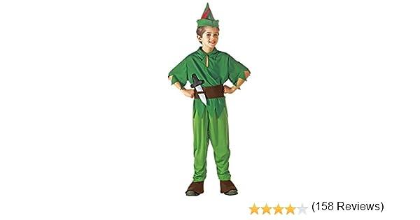 WIDMANN Peter Pan - Niños Disfraz - Pequeño - Edad 5-7 - 128cm ...