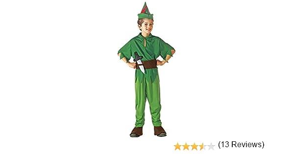 WIDMANN Peter Pan - Niños Disfraz - Medium - Edad 8-10 - 140cm