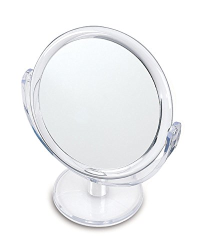 Espejo Para Maquillaje Aumento 12 X C/pie Cristal