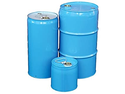 The Workplace Depot Tighthead Drums Made of Mild Steel Storage for Chemicals Paint & Solvents - 260 mm