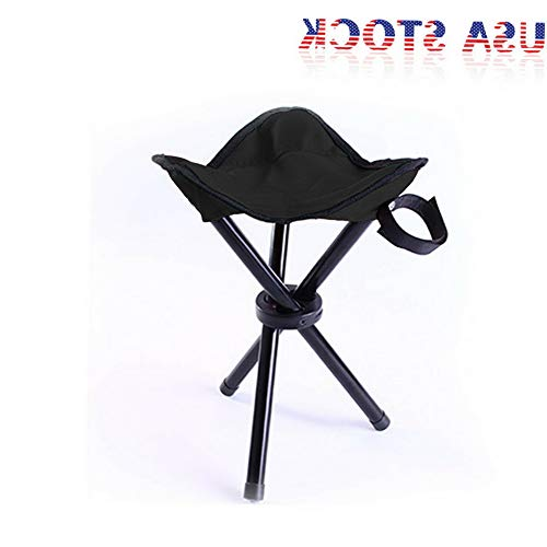 Kaputar Travel Slacker Chair Folding Tripod Camping Stool Seat Hiking Portable Outdoor | Model CMPNGCHR - 187 |