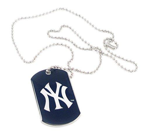 New York Yankees - MLB Enameled Logo Dog Tag Necklace