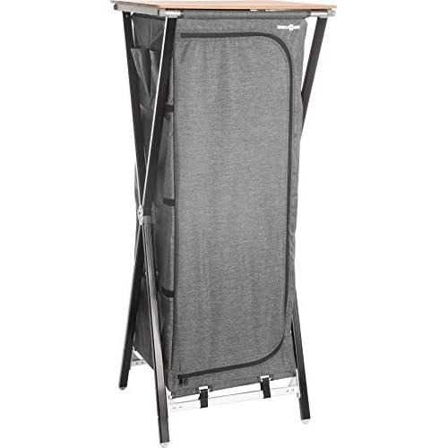Brunner Mercury Cross Square HS - Armoire de camping - gris 2018 armoire toile