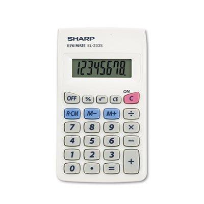 EL233SB Pocket Calculator, 8-Digit LCD, Total 160 EA, Sold as 1 Carton