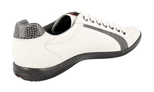 Prada Hombres 4e2338 Sneaker De Cuero