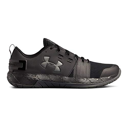 Under Armour Men's Commit TR X NM Sneaker, Black (001)/Charcoal, 10.5 by Under Armour