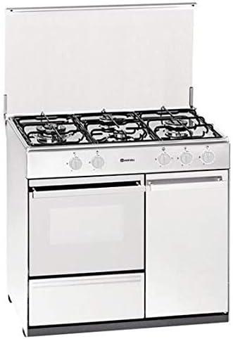 Cocina gas GPL butano/propano MEIRELES G2940DVTEW: Amazon.es ...