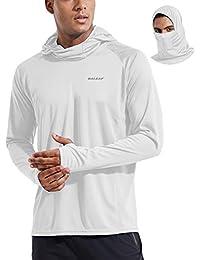 Men's Long Sleeve UPF 50+ UV Sun Protection Shirt SPF Lightweight Quick Dry Hiking Fishing Shirt